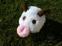 League of Legends 12in Poro Plush by QQChrystal on Etsy, $70.00, why do I need this so much?