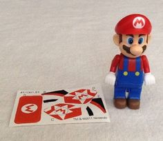 "New Knex (2011) Mariokart Wii MARIO Figure 2.5"" Tall  6+  #KNEX"