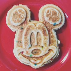 My kids love Mickey shaped waffles! Bring the magic home with this waffle maker!