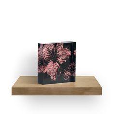 'Glistening Garnet' Acrylic Blocks by Moonshine Paradise  #redbubble #garnet #nature #art #decor