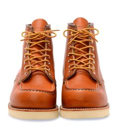 Heritage Moc Toe Boot in Brown