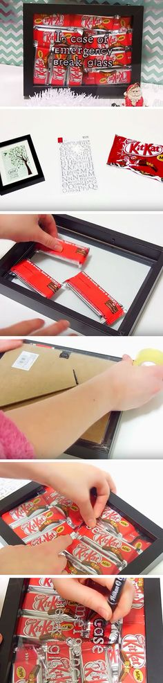 Emergency Chocolate Supply | Click Pic for 24 DIY Christmas Gifts for Teen…