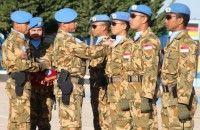 103 Prajurit TNI Unifil di Lebanon Naik Pangkat