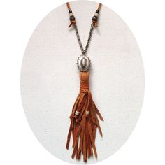 Den  Delve - PENDANT  TASSEL NECKLACE