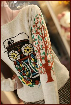 Ioffer owl sweater