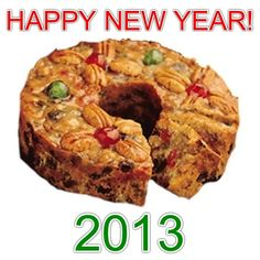 Wishing everyone the biggest slice of happiness and good luck in the New Year!