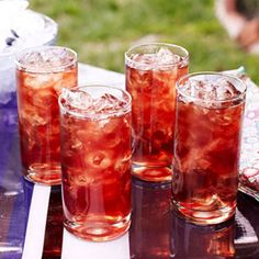 Blueberry Iced Tea - Rachael Ray Every Day