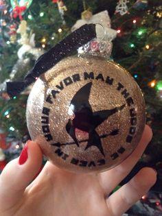 Hunger games ornament! Love!