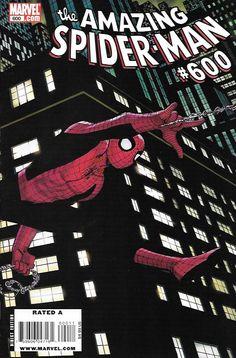 The Amazing Spider-Man # 600 Marvel Comics Vol 1