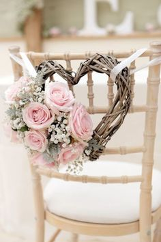 Country wedding chair ♡