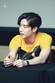 Fansign in Coex Yugyeom, Youngjae, Jinyoung, Its Ya Boy, Love Milo, Jackson, Favorite Son, Got7 Mark Tuan, Love Of My Life
