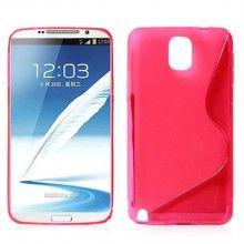 Funda Galaxy Note 3 - Sline Fucsia  S/. 23.52