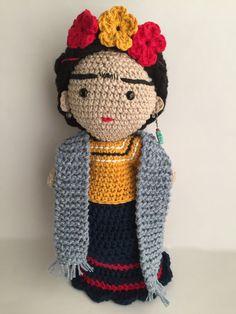 Frida Frida Kahlo Frida amigurumi Frida doll Doll by Sanaya321