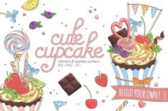 Cute Cupcake By Shark&Croc co.