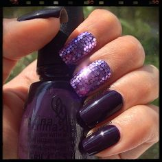 Purple shine.