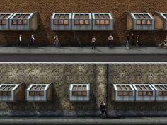 O arquiteto britânico James Furzer, 26 anos, teve uma ideia inovadora para proporcionar abrigos para pessoas em situação de rua em Londres. Ele criou cápsulas de madeira para serem anexadas a prédios e servirem de moradia provisória a quem precisa.