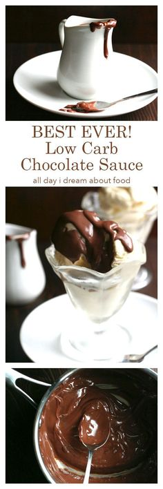 This sugar-free hot fudge sauce is so good, you will want to eat it with a spoon! Grab a bowl of your favourite low carb ice cream and dig in.