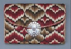 Man's flamepoint wallet dated 1757