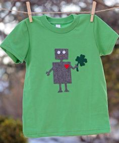 Dess your tots in a rainbow of green this St. Patrick's Day. Here are our favorite finds from Etsy.