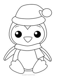 These Christmas coloring sheets are perfect for kids and adults. They include: Santa Claus, ornaments and Christmas trees! Print one or all. Penguin Coloring Pages. Penguin Coloring Pages, Cute Coloring Pages, Coloring Pages For Kids, Coloring Books, Coloring Set, Kids Coloring Sheets, Coloring Pages Winter, Coloring Pictures For Kids, Fairy Coloring