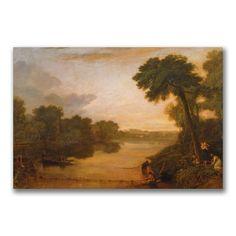 "Trademark Fine Art Joseph Turner 'The Thames near Windsor' 24"" x 32"" Canvas Art"