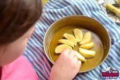 gateau tati gateau pomme au caramel (5) Pudding, Blond, Upside Down Apple Cake, Caramel Apple, Tarte Tatin, Sweet Recipes, Cooking Recipes, House Cake, Custard Pudding
