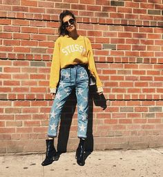 Today's mood ⭐️✨⭐️ #nyc #streetstyle #mood by... -