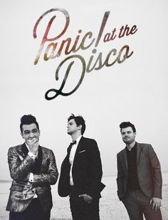 Panic! At the Disco. Brendon Urie, Dallon Weekes, and Spencer Smith