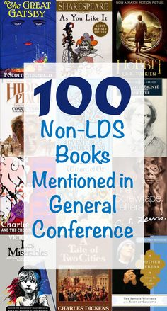 Sprinkled amidst the references to scriptures, previous conference talks and Church-published books, speakers at general conference occasionally cite non-LDS texts. Over the last five years, prophets and apostles have referenced or quoted from more than 100 non-LDS books during general conference sessions.