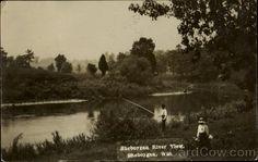 Fishing Sheboygan River View Sheboygen Wisconsin