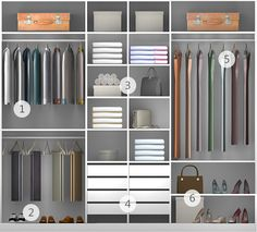 Wardrobe Design Bedroom, Bedroom Wardrobe, Wardrobe Closet, Bedroom Decor, Bedroom Cupboard Designs, Bedroom Cupboards, Wardrobe Door Designs, Closet Designs, Dressing Room Design
