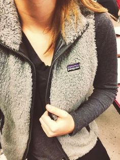 Cozy Patagonia Leather Vest