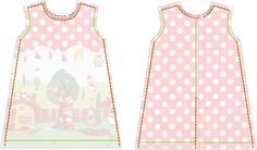 Free sewing tutorial and pattern toddler dress with peter pan collar