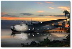 Pan Am Boeing 314 - Yankee Clipper by Ron Cole