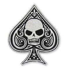 Memento Mori Ace of Spades - Type 1 Morale Patch