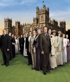 Downton Abbey. Just amazing!