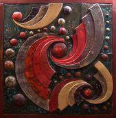 renkli seramik pano – Hobbies paining body for kids and adult Clay Wall Art, Ceramic Wall Art, Tile Art, Clay Art, Ceramic Pottery, Sculpture Clay, Wall Sculptures, Mural Art, Abstract Art
