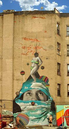 Okuda – 36 créations entre Street Art et Land Art | Ufunk.net