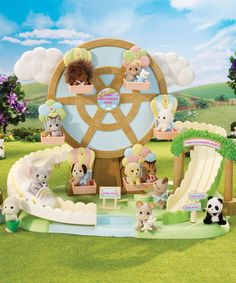 Take a look at this Baby Amusement Park Set by Calico Critter on #zulily today!