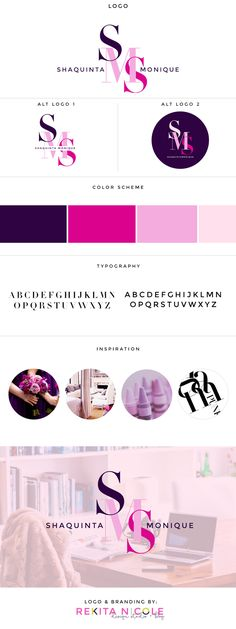 I WANT THE 3 CAPITAL LETTERS DIAGONAL LIKE IT IS HERE FOR MY LOGO. DUPLICATE USE THE MAIN LOGO AND USE THESE THREE COLORS PURPLE, HOT PINK AND A LAVENDER THANKS