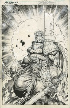 Comic Book Artists, Comic Artist, Comic Books Art, Soul Saga, Comic Drawing, Vit, Gladiators, Image Comics, Sketch Art