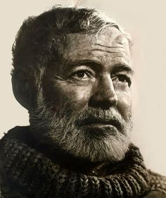 Ernest Hemingway 1957 by Yousuf Karsh. Ernest Hemingway, Hemingway Quotes, Story Writer, Book Writer, Nobel Prize In Literature, Great Thinkers, Writers And Poets, Famous People, Yousuf Karsh