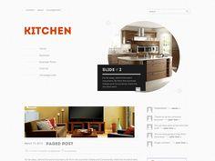 Kitchen Free WordPress Theme