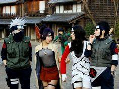 Kakashi Anko Gai  Kurenai and Asuma Naruto Cosplay!