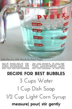 Valentine Bubble Science Activity - Pre-K Pages