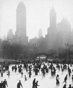 Central Park, New York City, 1956
