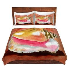 online shopping for Queen Conch Duvet Cover Set East Urban Home from top store. See new offer for Queen Conch Duvet Cover Set East Urban Home Red Duvet Cover, Single Duvet Cover, Duvet Cover Sets, Home Online Shopping, Bed Rails For Toddlers, Red Sofa, Ruffle Bedding, Quilt Sets, Urban