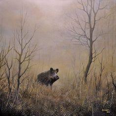 Vadászfestmények, természetképek