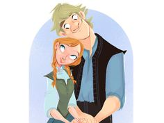 I got: Anna and Kristoff!! Which Disney Love Affair Will You Have?