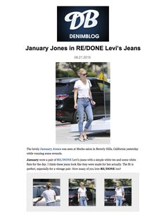 January Jones ft. The High Rise